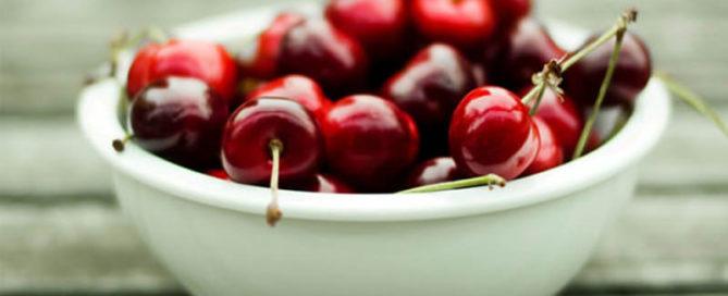 Recetas más fáciles con cerezas