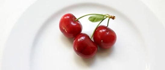Cerezas. Las superfrutas